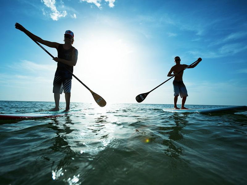 SUP Stand Up Paddle in Milano Marittima